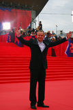 Actor Andrey Sokolov at Moscow Film Festival Stock Images