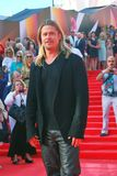 Actor Brad Pitt at Moscow Film Festival Royalty Free Stock Photos