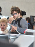 Actor Bradley cooper is seen at LAX Stock Images