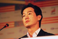 Actor Choi Sung Ho Stock Images