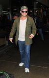 Actor Christian Slater is seen at LAX Stock Photography