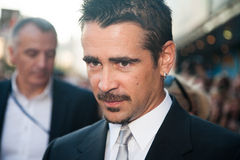 Actor Colin Farrell. Premiere of the movie Total Recall, August,8, 2012 at OCTOBER CINEMA  in Moscow, Russia Stock Images