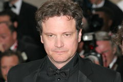 Actor Colin Firth Royalty Free Stock Photos