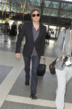 Actor Colin Firth is seen at LAX. LOS ANGELES - FEBRUARY 8 : Actor Colin Firth is seen at LAX. February 8th in Los Angeles, California Stock Images