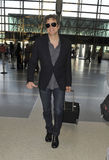 Actor Colin Firth is seen at LAX airport Royalty Free Stock Photography