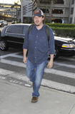Actor/comedian Danny McBride at LAX airport Stock Images