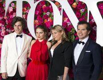 John Leguizamo at the 2018 Tony Awards. Actor, comedian and playwright John Leguizamo arrives on the red carpet for the 72nd Annual Tony Awards held at Radio stock image