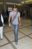 Actor Dane Cook is seen at LAX Stock Image