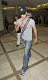 Actor Dane Cook is seen at LAX. LOS ANGELES-JULY 22: Actor Dane Cook is seen at LAX . July 22nd in Los Angeles, California 2010 Stock Images