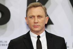 Actor Daniel Craig. Attends the Germany premiere of James Bond 007 movie Skyfall at the Theater am Potsdamer Platz on October 30, 2012 in Berlin, Germany stock images