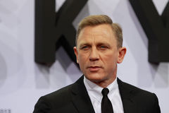 Actor Daniel Craig royalty free stock photography