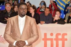Daniel Kaluuya at premiere of `Widows` at TIFF2018 royalty free stock photos