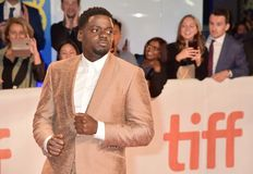 Daniel Kaluuya at premiere of `Widows` at TIFF2018 stock photo