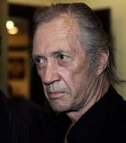 Actor David Carradine. Arrives to Moscow to play in a film on September 1, 2005 Royalty Free Stock Image