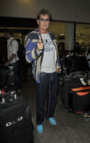 Actor David Hasselhoff at LAX airport Royalty Free Stock Photos
