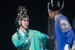 Actor de la ópera de Yue del chino Fotos de archivo