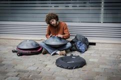 Actor de la calle imagen de archivo libre de regalías