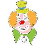 Actor del circo Fotos de archivo libres de regalías