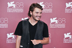 Actor Emile Hirsch. VENICE - SEPTEMBER 8: Actor Emile Hirsch poses at photocall during the 68th Venice Film Festival at Palazzo del Cinema in Venice, September 8 Stock Photos