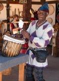 Actor en el festival del renacimiento de Arizona Fotografía de archivo libre de regalías