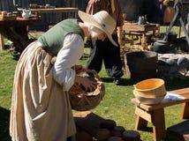 Actor en el festival del renacimiento de Arizona Foto de archivo libre de regalías