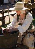 Actor en el festival del renacimiento de Arizona Fotos de archivo