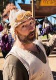 Actor en el festival del renacimiento de Arizona Fotos de archivo libres de regalías