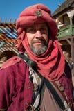 Actor en el festival del renacimiento de Arizona Imagen de archivo