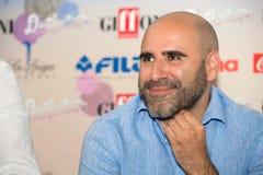 Actor Francesco Ghiaccio Foto de archivo