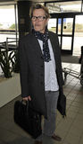 Actor Gary Oldman at LAX airport Royalty Free Stock Images