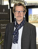 Actor Gary Oldman at LAX airport,CA USA Stock Image