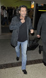 Actor Ian McShane at LAX airport Stock Image