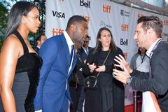 Idris Elba at toronto international film festival royalty free stock image