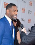 Idris Elba at toronto international film festival Royalty Free Stock Image