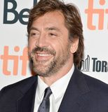 Javier Bardem at the premiere of 2017 & x27;mother& x27; at Toronto International Film Festival. Actor Javier Bardem at TIFF 17 at 'mother' film Stock Images