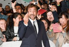 Actor Javier Bardem at TIFF 17 at `mother` film premiere at toronto international film festival 2017. Actor Javier Bardem at TIFF 17 at `mother` film premiere royalty free stock image