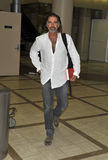 Actor Jeff Fahey is seen at LAX. LOS ANGELES-JULY 24: Actor Jeff Fahey is seen at LAX . July 24th in Los Angeles, California 2010 Stock Photos