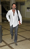 Actor Jeff Fahey is seen at LAX Stock Photography