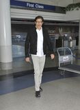 Actor Jeff Goldblum is seen at LAX Stock Photos