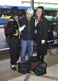 Actor Jerry Ferrara is seen at LAX airport Stock Photo