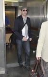 Actor john Hamm is seen at LAX . Nove Royalty Free Stock Photos