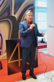 Actor John Savage del actor de Hollywood en el festival de cine del International de Moscú Foto de archivo