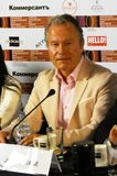 Actor John Savage from USA. Main competition jury press conference of 40th Moscow International Film Festival. Date: April 20, 2018. Place: Moscow. Color photo stock images