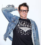 Actor Johnny Knoxville Imagenes de archivo