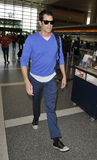 Actor Johnny Knoxville is seen at LAX Stock Image