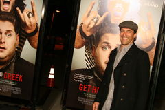 Actor Jon Hamm #4. Actor Jon Hamm attends the premiere of 'Get Him to the Greek' at the Greek Theater in Los Angeles Royalty Free Stock Photography