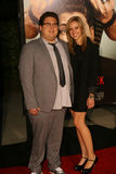 Actor Jonah Hill and Jordan Klein #2. Actor Jonah Hill and his girlfriend, Jordan Klein arrive at the 'Get Him To The Greek' Los Angeles Premiere at The Greek Royalty Free Stock Photos