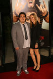 Actor Jonah Hill and Jordan Klein #3. Actor Jonah Hill and his girlfriend, Jordan Klein arrive at the 'Get Him To The Greek' Los Angeles Premiere at The Greek Royalty Free Stock Photos