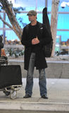 Actor Josh Holloway is seen at LAX . Royalty Free Stock Images
