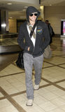 Actor Kellan lutz at LAX . Stock Photo